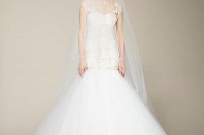 Tendencias en vestidos de novia: Marchesa 2013