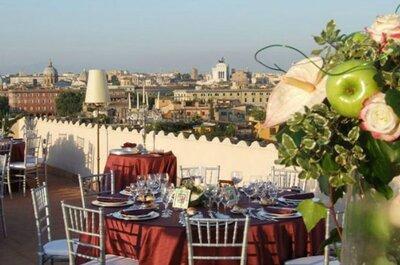 6 hotel spettacolari a Roma per un matrimonio Caput mundi