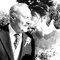 Beso de la novia a su padre.