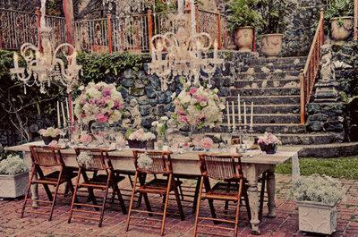 10 detalles básicos que debe haber en una boda shabby chic: estilo que conquista