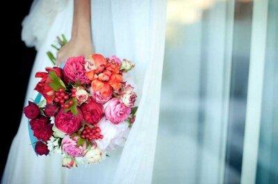 Os melhores buquês de noiva para casar no verão