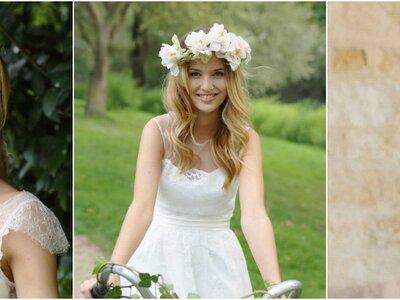 Os mais lindos penteados informais para noivas modernas