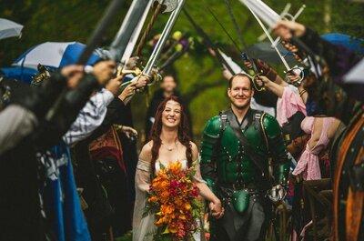 ¡Fans de Game Of Thrones! Conoce cómo organizar una boda basada en tu serie favorita