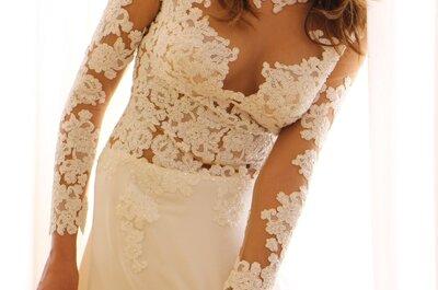 3 trucchi imperdibili per essere perfetta con un abito da sposa in pizzo