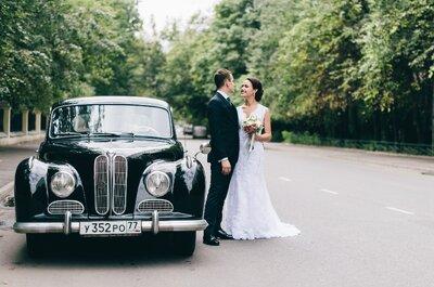 ТОП7: Свадебные кортежи для молодоженов в Москве