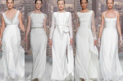 Desfile Rosa Clará revela sua coleção 2015 na Barcelona Bridal Week