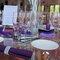 Des tables de mariage raffinées