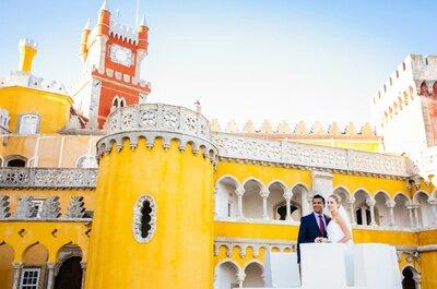 Judith & Greig: casamento num dos palácios do amor por excelência, sabe qual é?