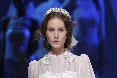 10 coiffures de mariées vues à la Barcelona Bridal Week