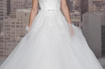 Bellos y elegantes vestidos de novia de la colección de Rosa Clará 2015