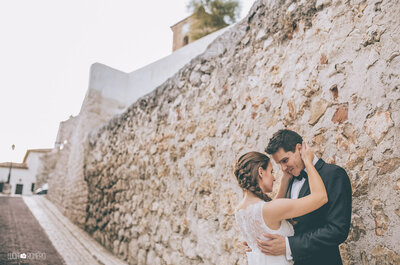 El partido más importante de sus vidas: la boda de Laura y Rubén