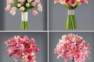 Delicados ramos de novia ideados por Vera Wang