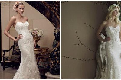 Aprende a escoger un vestido de novia sin tener que ser una modelo