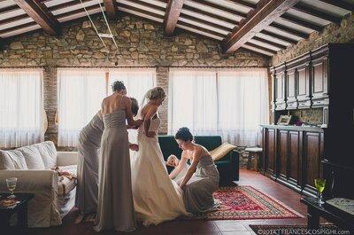 La prova dell'abito da sposa: da chi farsi accompagnare? Tra mamme ed amico gay fashionista, 9 esperti + 1 ci dicono la loro