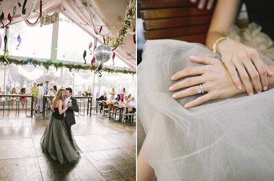 Real Wedding: Increíble boda boho chic en Texas