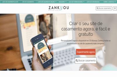 Como fazer um site de casamento exclusivo para seu grande dia: Zankyou é a resposta!