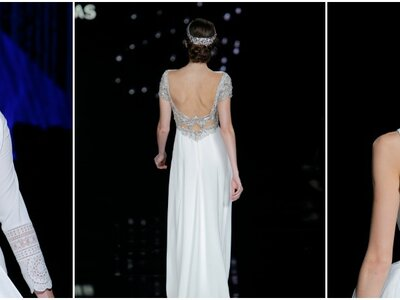 Suknie ślubne z dekoltem na plecach 2017! Mamy dla Was aż 50 sukni!