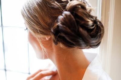 30 Peinados perfectos para una novia con cabello largo: Amarás todos los estilos que puedes lograr