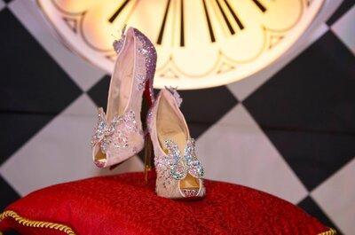Christian Louboutin y Disney presentan los zapatos inspirados en Cenicienta