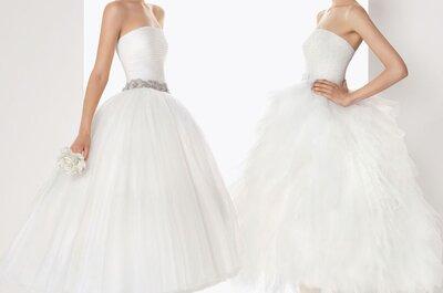Una selezione di abiti da sposa ispirati ad Audrey Hepburn