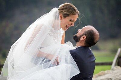 Cómo decirle a tu prometido que no te gustan sus ideas para la boda sin ofenderlo
