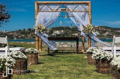 Casamento na praia: dicas para um grande dia sem surpresas ou imprevistos