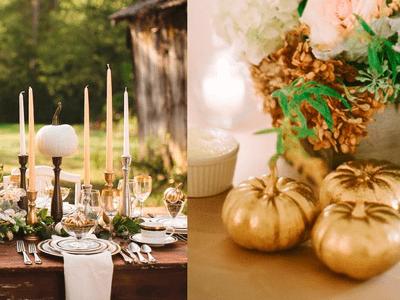 Decoración perfecta para tu boda en octubre: ¡Quiero dulces para mi!