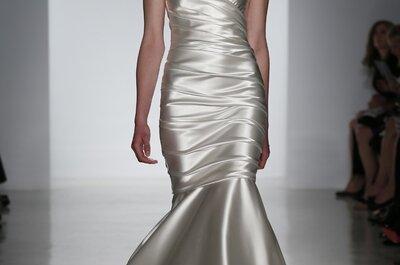Os glamourosos e clássicos vestidos de noiva de Kenneth Pool 2015 na New York Bridal Week