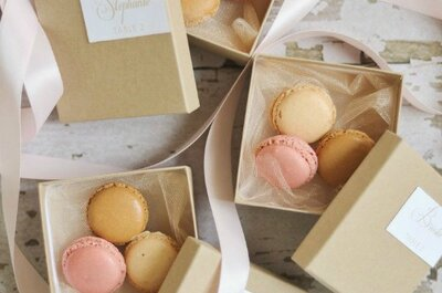 Give them a Gift to Remember: Wedding Favor Inspiration
