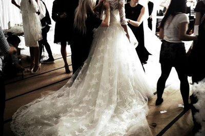 La collezione Marchesa 2014 indiretta dalla New York Bridal Week