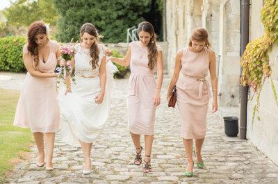 Cuatro formas de anunciarle a tus mejores amigas que serán tus damas de honor