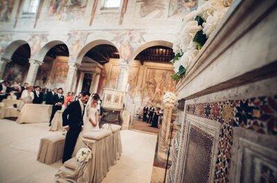 5 ragioni per cui TUTTI dovrebbero sposarsi a Roma
