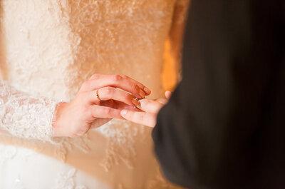 111 frases de amor para grabar en las argollas de matrimonio