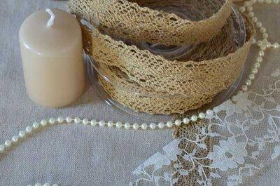 Donnez à votre décoration de mariage une touche vintage, récup et tendance
