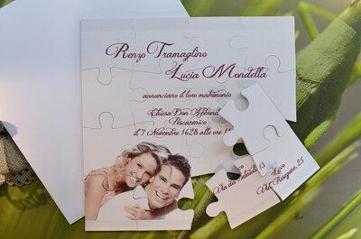 Partecipazioni di nozze Ferdinando Famà: il fascino della qualità