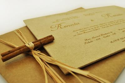 Tendências para convites de casamento 2013