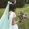 Véu de noiva azul
