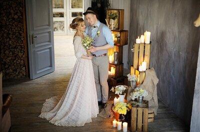 Как организовать свадьбу в стиле кантри?