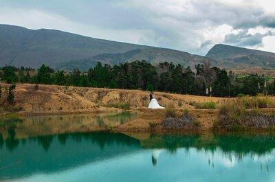 Los lugares más maravillosos de Colombia para retratar el amor