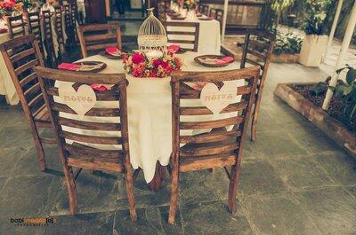 Como escolher as cadeiras CERTAS para cada estilo de casamento!