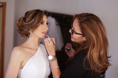 Belleza para novias: Maquillaje y peinado… el verdadero valor de lucir hermosa