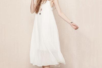 Vous avez un petit budget? Voici 25 robes de mariée tendances à prix doux !