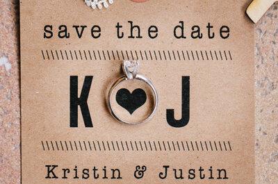 Save the date: diferentes ideias para te inspirar!
