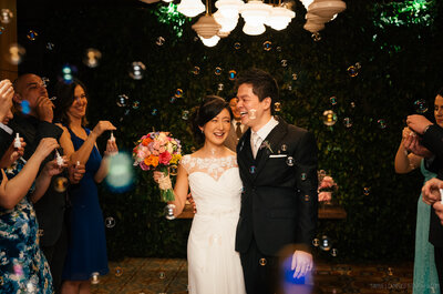 Mini Wedding romântico em tons pastel de Karina & Julio: delicadeza, simplicidade e muito bom gosto!