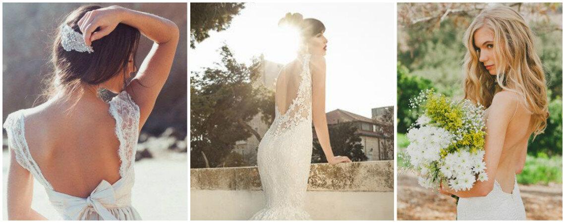 Escotes y espaldas pronunciadas, los vestidos de novia más hot del 2016: Entrevista a Karen Sánchez