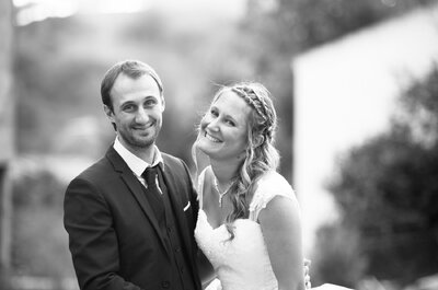 Chants corses et arrivée sur la plage : le beau mariage de Fiona et Roch