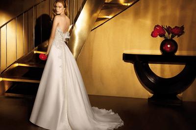 Abiti da sposa scollati sulla schiena: un'idea irresistibile per il 2015