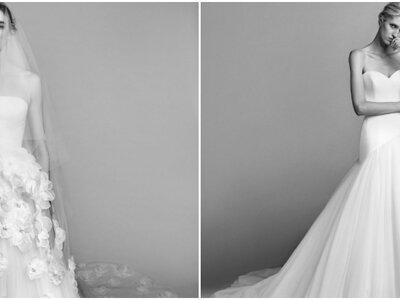 Viktor & Rolf präsentieren ihre neuen Brautkleider 2017: Couture für Romantikerinnen