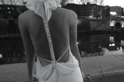 Delikatne suknie ślubne Inbal Dror 2012