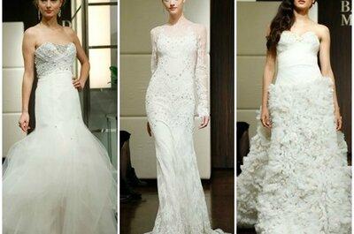 Robes de mariée façon star : Badgley Mischka automne 2013